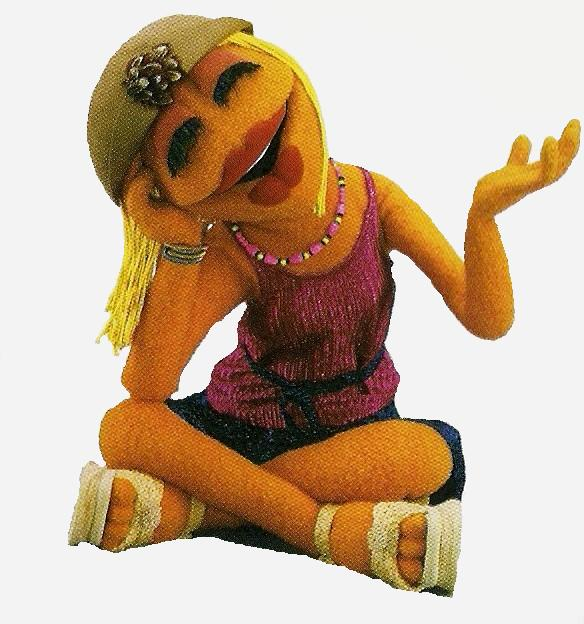 even reappeared... Muppets Janice