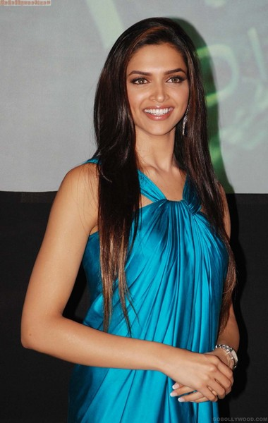 Deepika Padukone Long Straight Hairstyle