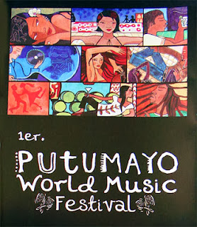 Putumayo World Musica 1er. Festival (Cartel)