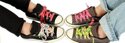 Scented Shoelaces giveaway