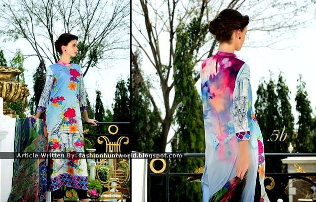 Tabassum Mughal Luxury Lawn 2015 By Al-Zohaib Textile