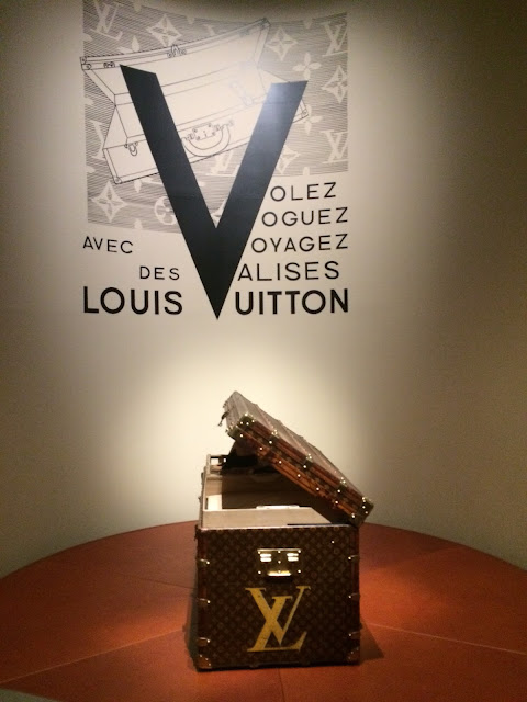 Louis Vuitton trunk, Grand Palais, Paris