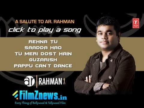 AR Rahman Special Songs Of 2012