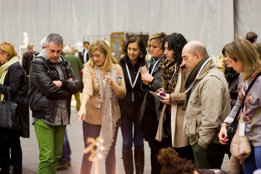 30º desembalaje Bilbao con Chus Cano_Visita blogueras