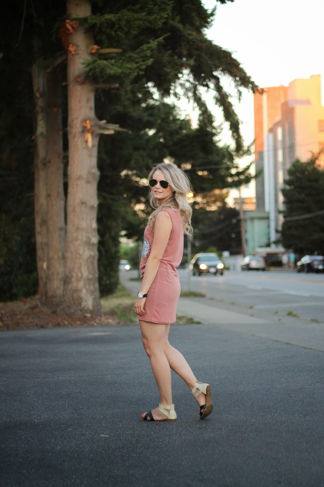 how to style a short dress