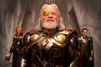 golden eye patch - Thor