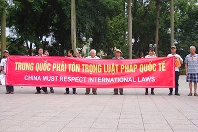 China must respect International Laws