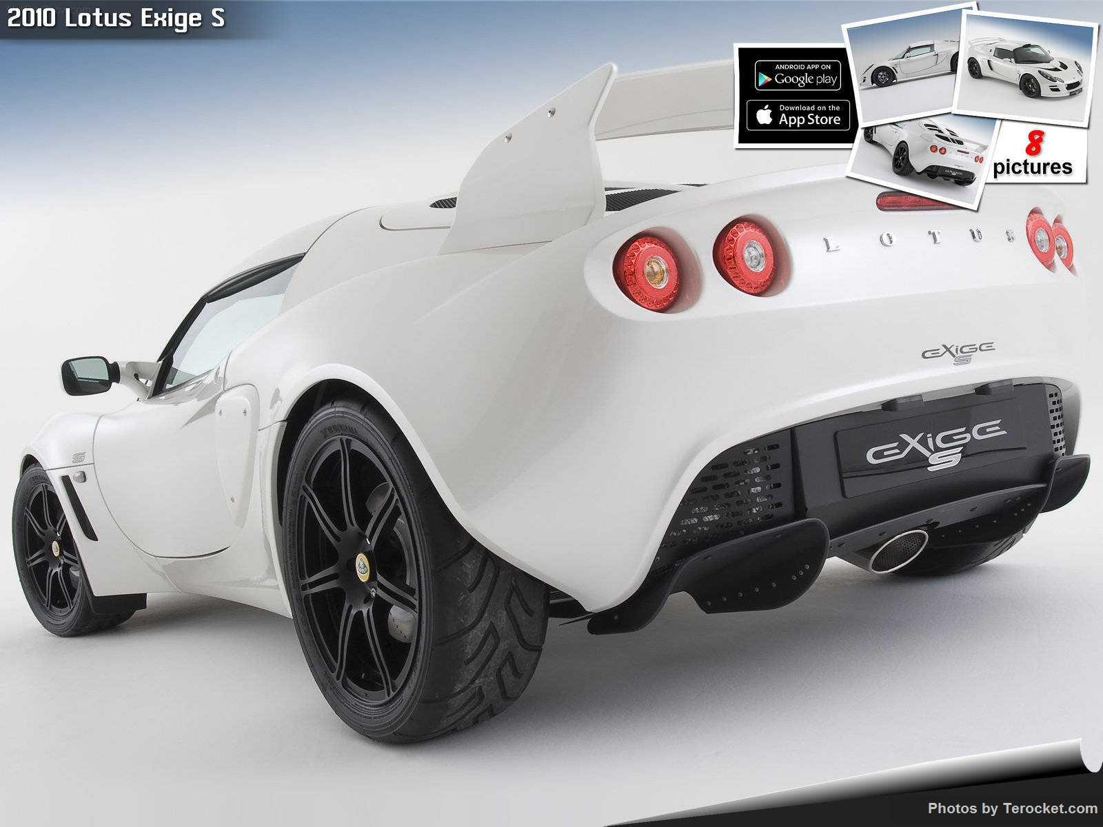 Hình ảnh siêu xe Lotus Exige S 2010 & nội ngoại thất