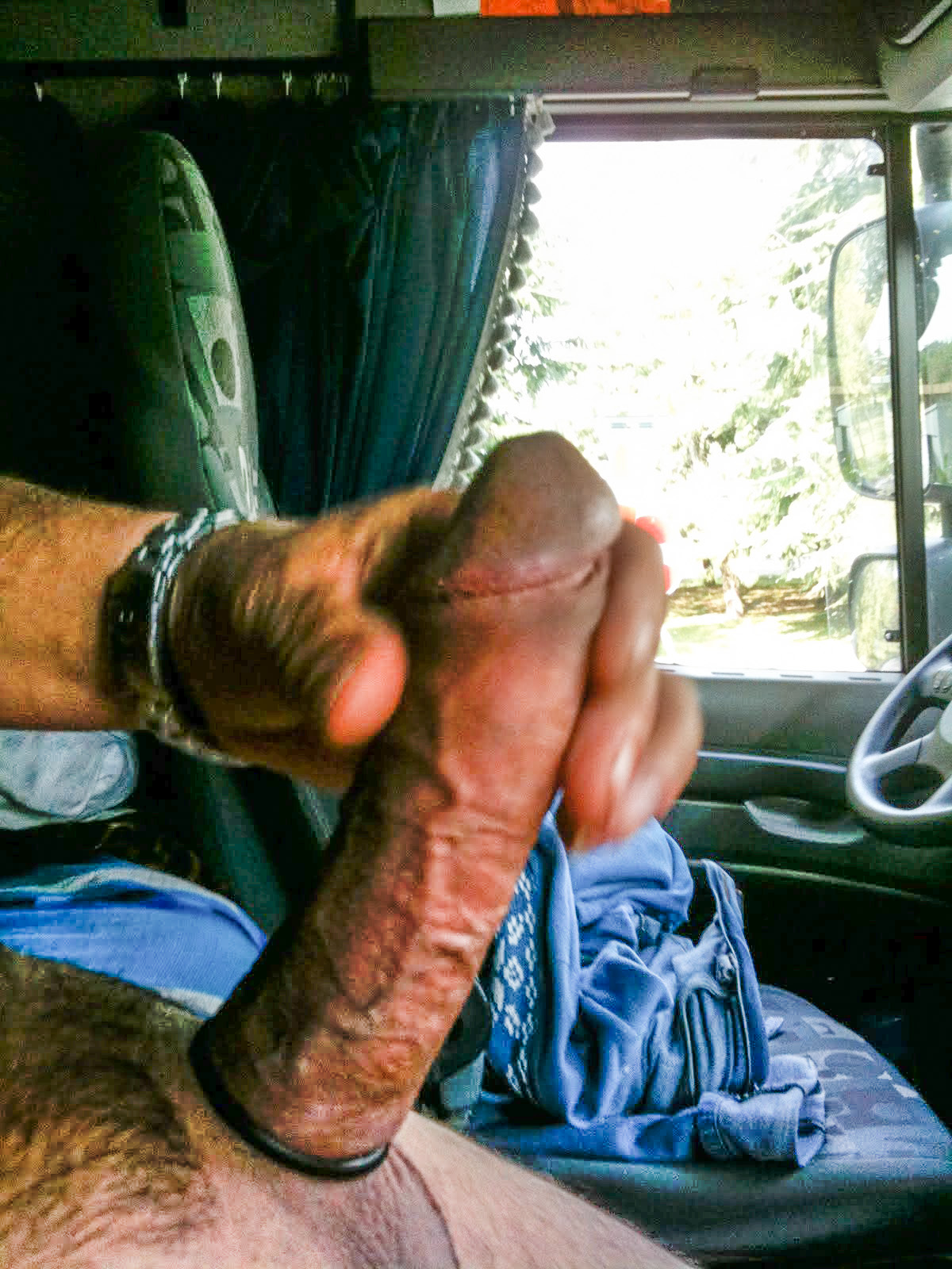 Big trucker dick