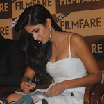 Katrina Kaif Looks Super Sexy In a White Short Dress At The Filmfare Event