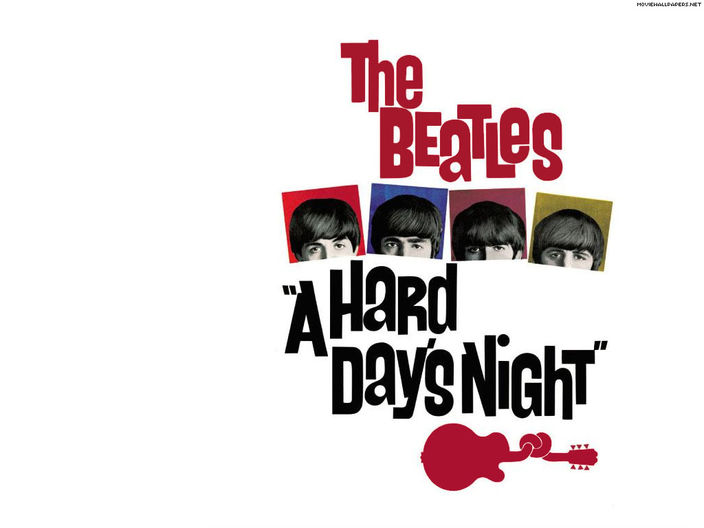 Anos 50 verdadeiro rock n roll a hard day s night sobre o filme