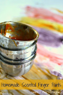 How to make scented finger paints