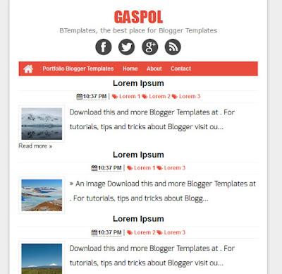 Gaspol theme
