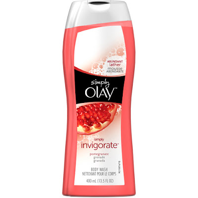 Olay, Olay body wash, Olay shower gel, Simply Olay Invigorate Body Wash Pomegranate, body wash, shower gel