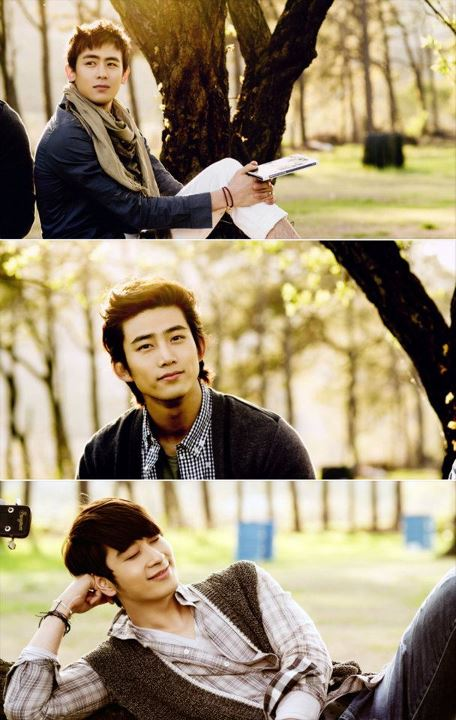 2PM's Nichkhun, Taecyeon, and Chansung