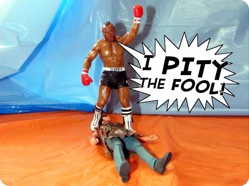 Mr. T has always taken pity on fools, which is very charitable of him.