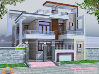 32x60 contemporary house Kerala home design and floor plans