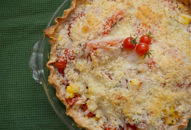 tomato and corn pie recipe
