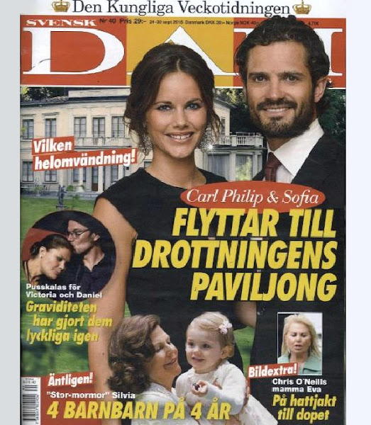 Prince Carl Philip and Princess Sofia of Sweden had hoped to move into a newly-renovated palace Villa Solbacken