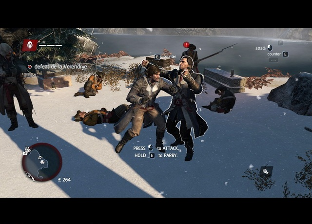 Assassin's Creed Rogue Games Screenshots
