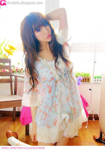 2 Lace girl - LuKiYa-very cute asian girl-girlcute4u.blogspot.com