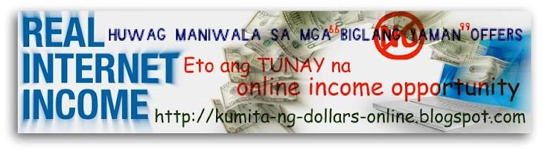 Paano kumita ng dollars online