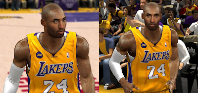 NBA 2K13 Kobe Bryant Face with Beard Update