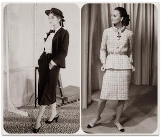 Модели Chanel из послевоенной коллекции