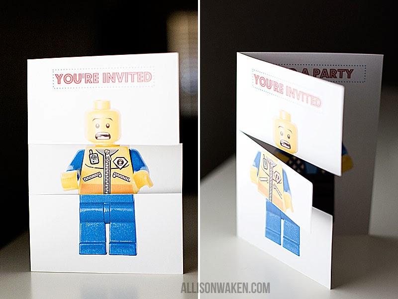Carte D Invitation Anniversaire Gratuite à Imprimer Lego