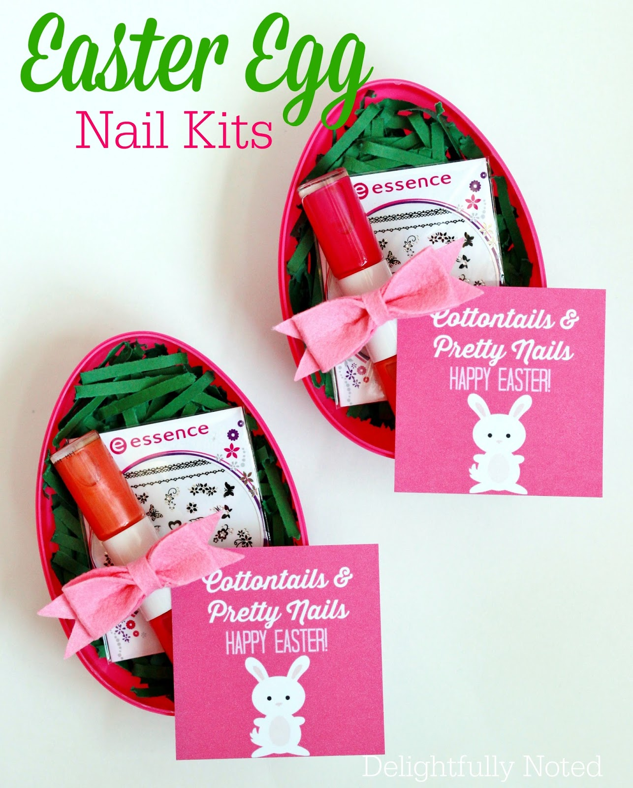 Tween girl easter basket idea easter egg nail kit delightfully noted teen girl easter basket idea easter egg nail kit negle Gallery