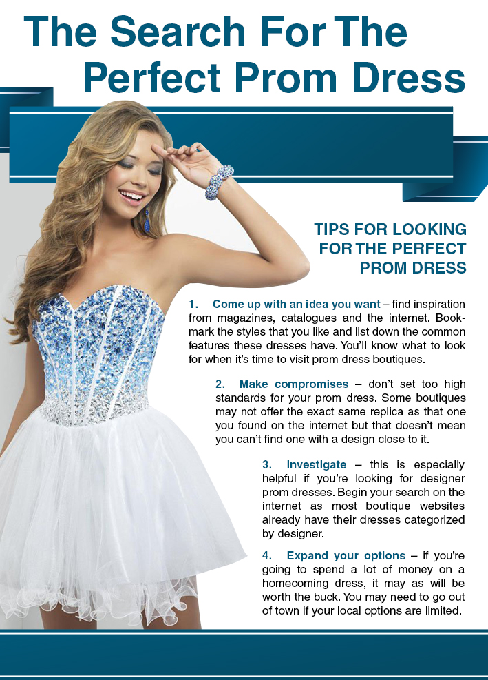 Style blog tips for searching for the perfect homecoming dress