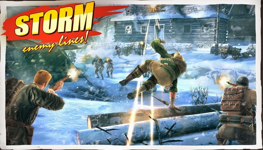 Brothers in Arms 3 Android walkthrough