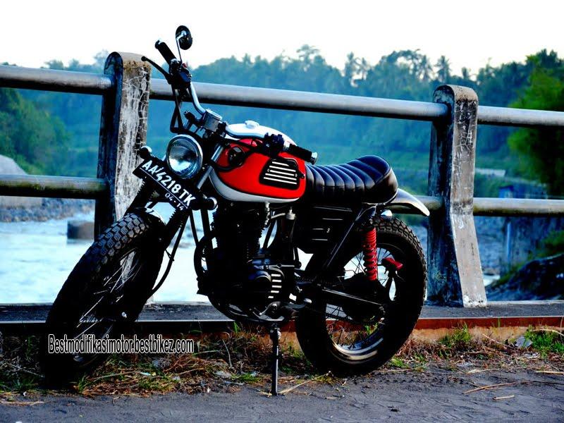 Modifikasi Honda CB 125