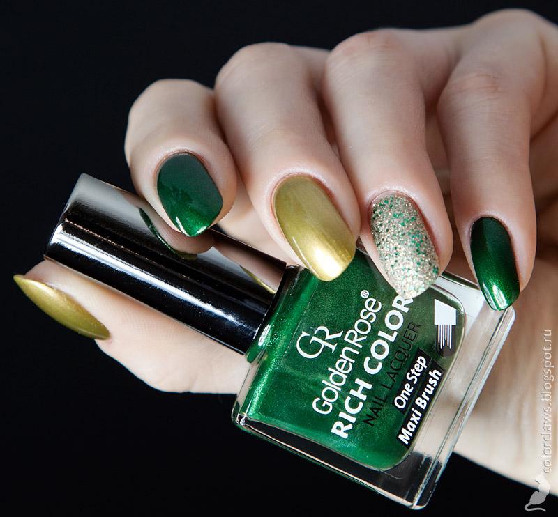 Golden Rose Color Expert #93 + Rich Color #110 + Galaxy #19