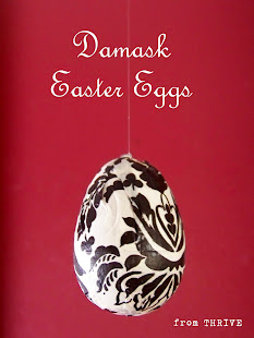 Damask Easter Eggs
