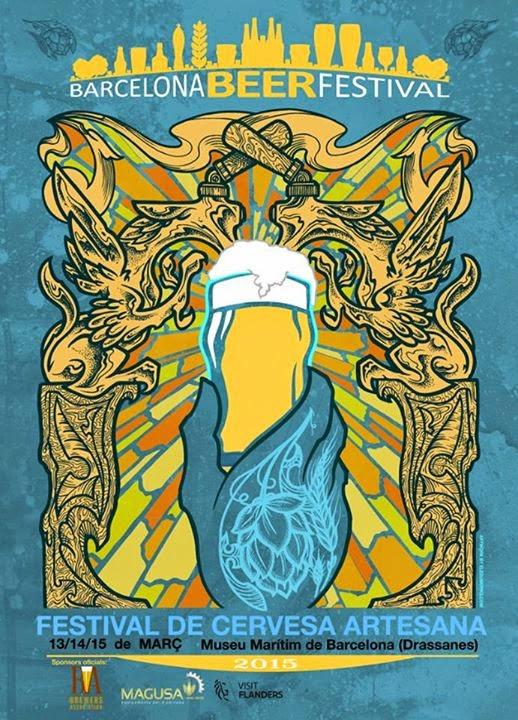 cartel cerveza barcelona