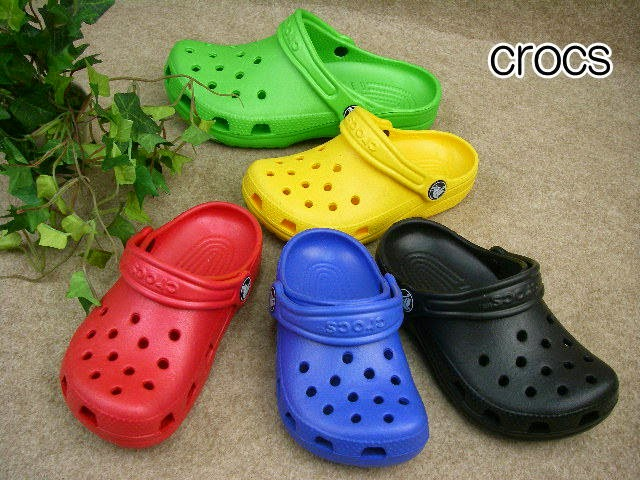 those are my crocs