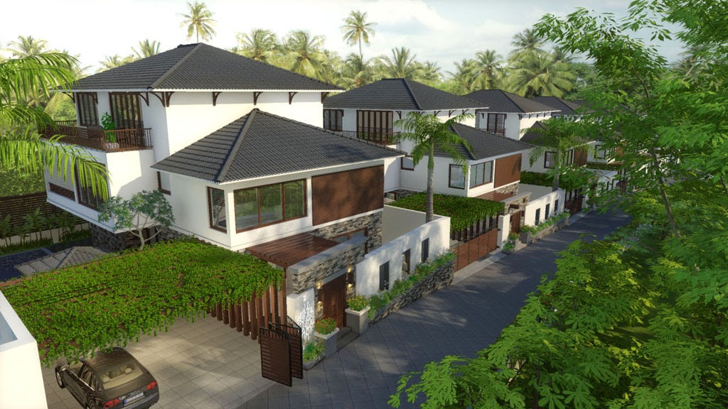 Frangipanni Villas in Goa