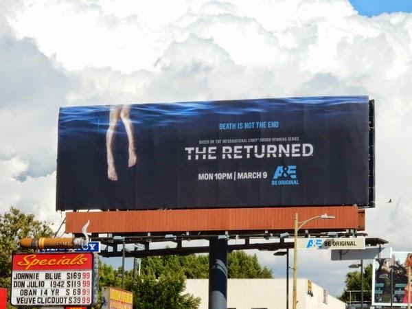 The Returned series premiere billboard