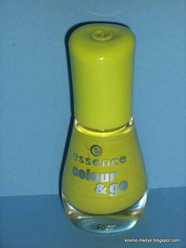 Piękna Zieleń z Essence, Colour & Go (nr 138)! :)
