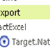 Export Excel dùng Logi Info