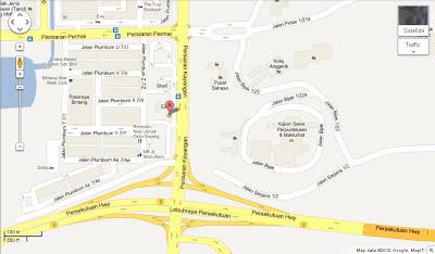 Penghantaran Percuma EZKeretaSewa di ESSO, Seksyen 7, Shah Alam
