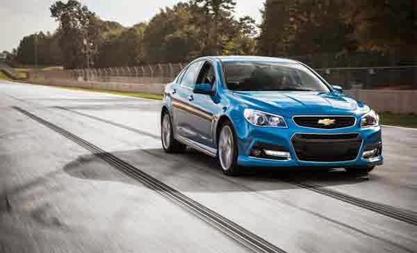 2015 Chevrolet SS Sedan Release Date