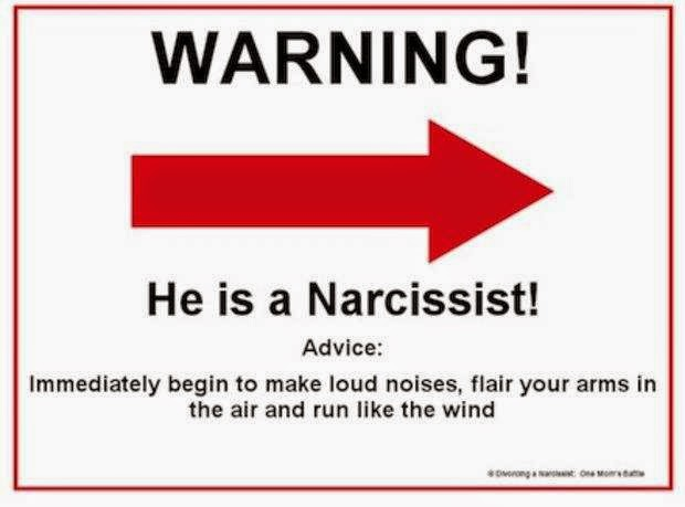 warning signs of a narcissist
