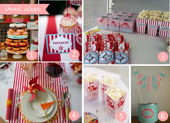 Cupcakes, ciambelle e popcorn, cupcake, donuts and popcorns