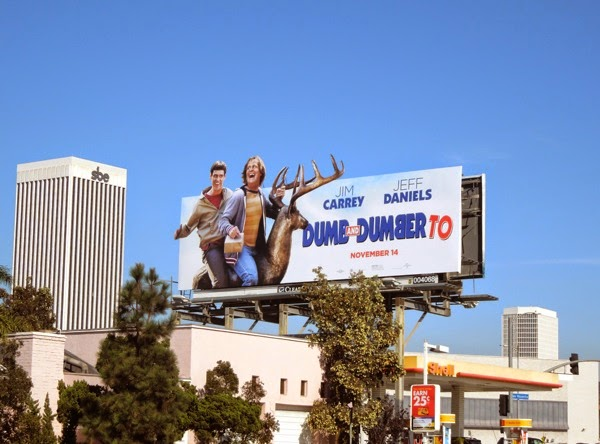 Dumb and Dumber To stag billboard