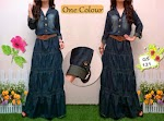 121 Gamis Jeans + Belt SOLD OUT
