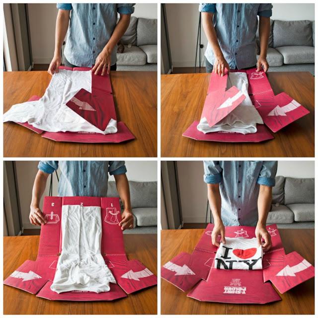 Cara mudah Lipat Baju