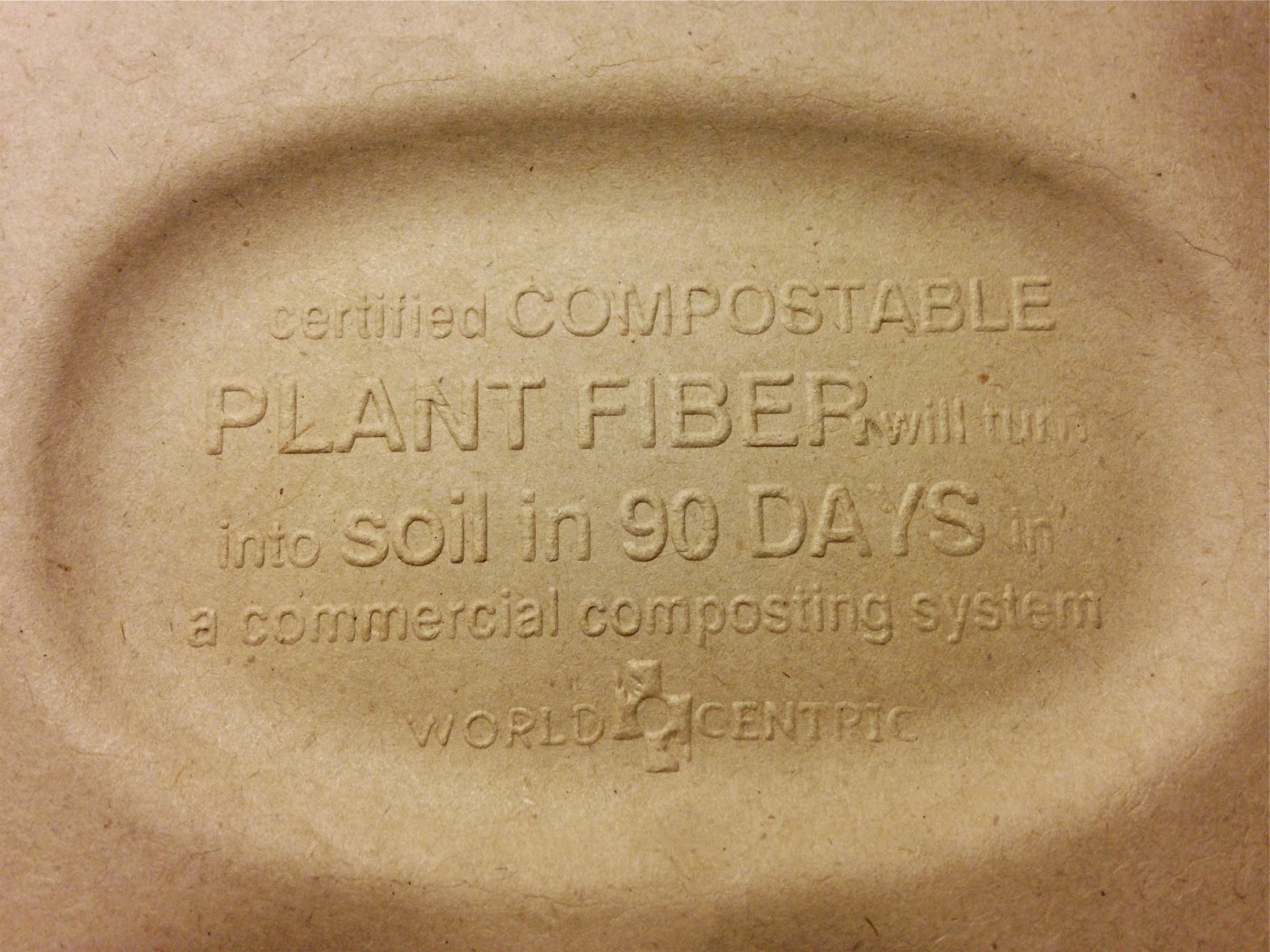 Compostable Takeout Container