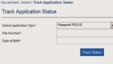 Check Indian Passport Status